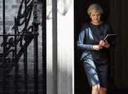 Auch im nächsten Jahr in der Downing Street: die britische Premierministerin Theresa May. (Bild: Dan Kitwood/Getty (London, 18. April 2017))