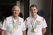 Christof Arnold (links, neben Stephan Loretz) hat gut lachen. (Bild: PD)