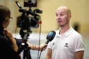 Otto Moilanen, Coach Ad Astra Sarnen: «40 Minuten lang war nicht das Ad Astra Sarnen auf dem Feld, das wir eigentlich kennen.» (Bild: Michael Peter)