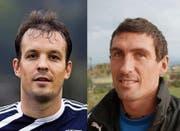 «Wir haben die Qualität, die es für den Ligaerhalt braucht», sagt Ueli Käppeli, Trainer des FC Malters (links). Und FC Sempach-Trainer Markus Koch (rechts) findet: «Wir haben wieder einen Schritt vorwärtsgemacht.» (Archivbilder LZ)