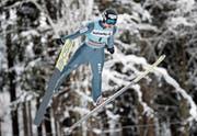 Verpasste beim zweiten Weltcup-Springen in Engelberg als 41. den Final: Andreas Schuler. (Bild: Claude Diderich/Freshfocus (17. Dezember 2017))