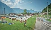 Im vergangenen Jahr haben weniger Gäste das Schwimmbad Altdorf besucht als im Jahr zuvor. (Bild: Pius Amrein (16. Juli 2015))