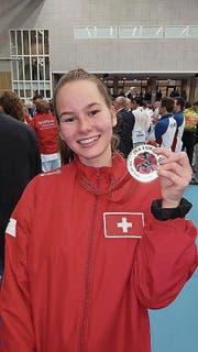 Sanne Dokter, Karatekämpferin aus Schötz. (Bild: pd)