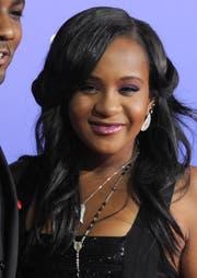 Bobbi Kristina Brown hatte zuletzt daran gearbeitet, in die grossen Fussstapfen ihrer berühmten Mutter Whitney Houston zu treten. (Bild: Keystone)