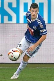 Zunächst soll er vor allem in der U 21 oder bei Testspielen wie hier gegen Dortmund am Ball sein: Frane Cirjak. (Bild: EQ/Marc Schumacher)