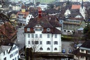 Das Rathaus von Sarnen. (Bild: Keystone)