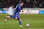 Die Berater streiten sich um ihn: Filip Ugrinic als Spieler des FC Luzern (Bild: Philipp Schmidli (Luzern, 20. November))