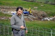 Hat vergeblich auf einen Anruf der Gemeinde gewartet: Paul Britschgi. (Bild Romano Cuonz)
