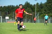 Michael Budmiger erzielte in sechs Vorbereitungsspielen 13 Tore. (Bild Dominik Wunderli)