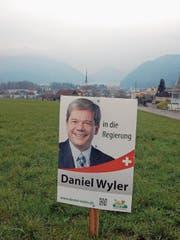 Daniel Wyler will den ersten Sitz der SVP in der Regierung und wird dafür von der FDP unterstützt. (Bild: Markus von Rotz (Alpnach, 17. März 2018))