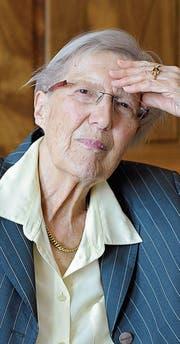 Helen Meier: Ihr Leben prägt ihr Werk. (Bild: Yvonne Böhler/PD)