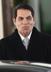Der ehemalige afrikanische Machthaber Ben Ali (Tunesien) deponierte ebenfalls Gelder bei Schweizer Banken. (Bild: STR (EPA))