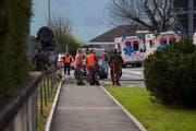 Kapo Schwyz und Militärpolizei versuchen, den Unfallhergang zu rekonstruieren