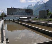 Die Kläranlage in Altdorf der Abwasser Uri AG. (Bild: Anian Heierli)