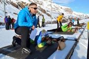 Die Biathlonanlage in Realp kommt für eine allfällige Winteruniversiade in Frage. (Bild Neue UZ)