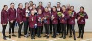 Das erfolgreiche Baarer Swiss-Cup-Team. (Bild: Corina Kümin/PD)