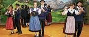 Die Trachtengruppe Spiringen zeigt neue und bekannte Tänze. (Bild: PD)