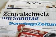 Die «Zentralschweiz am Sonntag» hat 208'000 Personen. (Bild Ramona Geiger)
