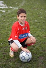 Filip Ugrinic 2007 als achtjähriger Junior beim FC Kickers.