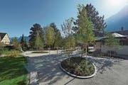 So sieht die neu eingeweihte Anlage «Birkenhain» aus. (Bild: PD)