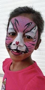 «Katzenmädchen», geschminkt von Mariros Cotichini. (Bild: zvg)