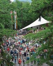 Frauen und Männer aus dem Erzbistum Freiburg (D) pilgerten am 23. Juni ins Flüeli. (Bild: PD)