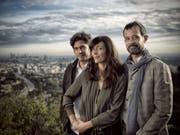 Max Karli, Pauline Gygax und Claude Barras. (Bild: Serge Hoeltschi)