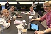 In ihrem Wohnort Atlanta sind sie oft im Starbucks Coffee Shop – auch zur Online-Lektüre unserer Zeitung. (Bild: PD)