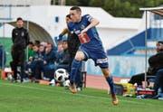 Offensivspieler mit schnellen Beinen: FCL-Jungprofi Ruben Vargas. (Bild: Martin Meienberger/Freshfocus (Marbella, 13. Januar 2018))