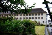 Eine Neue Nutzungsidee für viel Raum - denn das bietet das ehemalige Klostergebäude in Stans. (Bild: Corinne Glanzmann / Neue NZ)