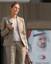 Veronique Robert in Dubai. (Bild: ALI HAIDER/EPA/Archivbild)