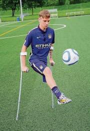 Jamie Tregaskiss verblüfft trotz seiner Behinderung mit einer unglaublichen Technik. (Bild: Thomas Bucheli, Bote der Urschweiz)