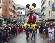 Mickey führte die Parade an. (Bild: Geri Holdener, Bote der Urschweiz)
