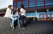 Die Zahl der Mädchen im Untergymnasium hat nun auch in Zug deutlich zugenommen. (Bild: Stefan Kaiser (Zug, 5. Oktober 2017))