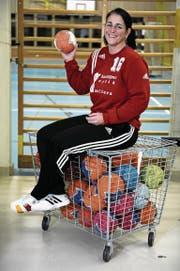 Susi Erni sagt dem Aktiv-Handball adieu. (Bild: PD)