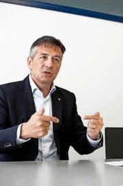 Der Nidwaldner Baudirektor Hans Wicki. (Bild Corinne Glanzmann)