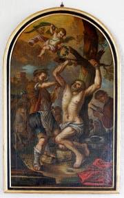 Der heilige Bartholomäus wird gehäutet. (Bild: Stefan Kaiser / Neue ZZ)