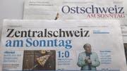 Wegen Sparmassnahmen gibt es die «Ostschweiz am Sonntag» ab November nur noch digital. Die «Zentralschweiz am Sonntag» bleibt weiterhin als Printprodukt erhalten. (Bild: Ramona Geiger)