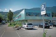 Das Gebiet beim BWZ in Sarnen steht ebenfalls zur Debatte für Park-and-Ride-Parkplätze. (Bild: Corinne Glanzmann (29. August 2017))