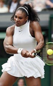 Sie will olympische Rekorde brechen: Serena Williams. (Bild: EPA/Facundo Arrizabalaga)