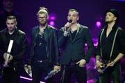 Die Band Frei.Wild an der Echo Musik Award Show. (Bild: EPA/CLEMENS BILAN)