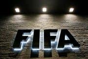 Logo am Hauptsitz der Fifa in Zürich. (Bild: Keystone)