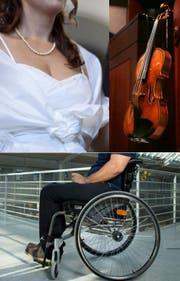 Unter anderem wurden Brautkleider, eine Stradivari und Rollstühle in den Zügen der SBB gefunden. (Bild: Keystone/Dominik Wunderli (22.10.2013, Luzern))
