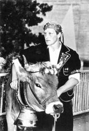 1995 gewann Josef Herger das Innerschweizerische Schwing- und Älplerfest in Schattdorf. (Bild: PD)