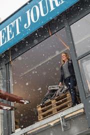 Tina Heide, General Managerin des Steigenbergers in Davos. Sie musste für das WEF ihr Appartement räumen. (Bild: Dominik Wunderli)