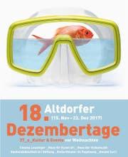 Die Dezembertage finden vom 15 November bis 23. Dezember 2017 in Altdorf statt. (Bild: pd/Dezembertage)