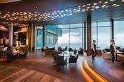 An der Réception des Bürgenstock-Hotels wird es über die Festtage viel zu tun geben. (Archivbild: Eveline Beerkircher (14. September 2017))