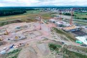 Blick auf die Baustelle (Bild: PD)