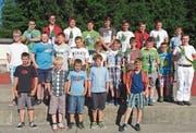25 Nachwuchsschwinger kämpften um Auszeichnungen. (Bild: PD)