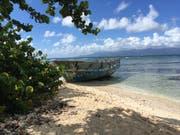 Das malerische Inselchen Îlet du Gosier eignet sich perfekt für einen Badetag und ist mit dem Boot von Le Gosier aus zu erreichen. (Bilder: Rahel Hug)